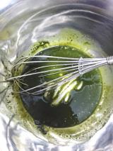 玉露園 濃いグリーンティーを使ってプリンを作ってみました♪の画像(5枚目)