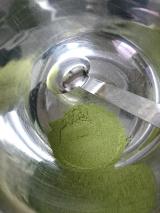 玉露園 濃いグリーンティーを使ってプリンを作ってみました♪の画像(4枚目)