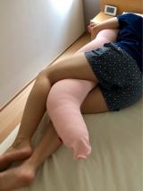 肩凝り・むくみ体質・妊婦さんにオススメ★ロフテー ボディピロー(抱き枕)わがままの画像(9枚目)