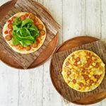 本日のランチは2種のピザ。ベースはマルハニチロの冷凍ピザ(春の新商品)。2種類作ろうとするとちょっと大変だけど。アレンジなら簡単。⚫トマトとモッツァレラチーズフルーツミニトマトをさらに…のInstagram画像
