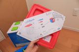 イスやテーブルとしても使える収納ボックス、リトルプリンセスのchillafishブロックBOX&ボックストップ(レビュー)の画像(4枚目)