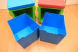 イスやテーブルとしても使える収納ボックス、リトルプリンセスのchillafishブロックBOX&ボックストップ(レビュー)の画像(6枚目)