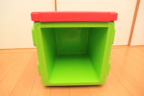 イスやテーブルとしても使える収納ボックス、リトルプリンセスのchillafishブロックBOX&ボックストップ(レビュー)の画像(7枚目)