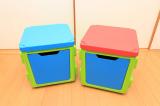 イスやテーブルとしても使える収納ボックス、リトルプリンセスのchillafishブロックBOX&ボックストップ(レビュー)の画像(5枚目)