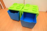 イスやテーブルとしても使える収納ボックス、リトルプリンセスのchillafishブロックBOX&ボックストップ(レビュー)の画像(9枚目)