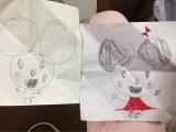 4歳長女っ子&手離し立っち&雑草と戦うの画像(2枚目)