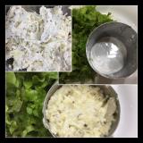 新じゃがで華やかに粒マスタード入りポテトサラダとナポリタンでランチでした~の画像(4枚目)
