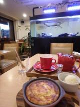 まだ寒い日は特におすすめ!神戸キッチンカフェ ペスカのあつあつcheesecakeの画像(1枚目)