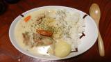 「さらさら『和風クリームシチュー・銀のクリームシチュー』の素で簡単ご飯」の画像(3枚目)