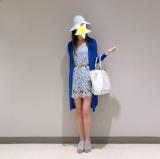 夢展望さんの総レースワンピースを着てみました!の画像(3枚目)