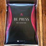 すっきりフルーツ青汁が大人気のFABIUSから待望の新商品♥️着るだけで運動効果?!姿勢サポートで理想の美ボディへ♪BE PRESS (#ビープレス )を頂きました…のInstagram画像