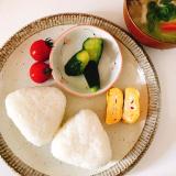 「美味しい塩×北海道米ゆめぴりかで塩むすび✧*」の画像(3枚目)