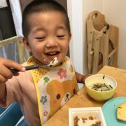 「納豆大好き」創業100周年記念第1弾!【こどもの笑顔あふれるおいしい食卓風景】写真コンテストの投稿画像