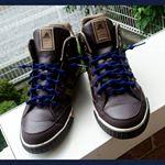 今日ご紹介するのは普段よくスニーカーを愛用している方・スポーツ大好きって方にオススメしたい収縮性抜群の結ばない靴ひも👣クールノットです😌ネイビー Lサイズを使用🙆ぷっくりした部分を靴穴に通…のInstagram画像