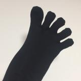 履きやすい シルク5本指ソックスの画像(7枚目)