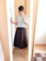 【titivate】キレイなAラインスカート♡の画像(2枚目)