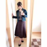 【titivate】キレイなAラインスカート♡の画像(3枚目)