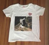 かわいい愛猫のT- shirtをデコプリで♡の画像(1枚目)