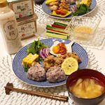 #夕食 🍴@hikarimiso 様 の【麹の花 無添加オーガニック味噌】を使用して、ミョウガのお味噌汁と野菜スティックにつける味噌マヨディップを作りました😊オーガニックなので安心安全✨…のInstagram画像