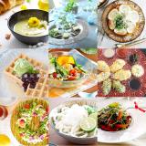ル・ノーブル◆冷菜、サラダ、パスタに…湧き上がる泡のように輝く涼しげな器の画像(1枚目)