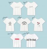 着こなし色々!コスパ高なプチプラTシャツ【モニター】選べる柄プリントTの画像(2枚目)