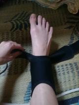 まだ早いじゃなく今から、エイダーで足首サポーターで負担を減らす生活!の画像(4枚目)