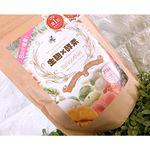 .♡和漢 生麹×酵素スムージー♡.生麹感溢れる食感と、アサイーベリーの風味がとっても美味しいスムージー💓.🐮🌸スプーン1杯強に、牛乳200ml牛乳でなくても豆乳やヨーグルトに混…のInstagram画像