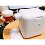 【ホムパ🏠✨】・・週末はお友達とホムパ🏠🤗・株式会社グリーンハウス様の家庭用ビールサーバー【パーティービールサーバー🍺】も持参して、満喫させてもらいました😍🎀・わたしが作っ…のInstagram画像