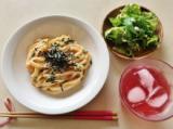 テーブルマーク麺がスゴいかねふくの明太子使用 明太クリームうどんとモロッコインゲンの画像(7枚目)