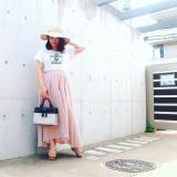 楽チン♡Tシャツコーデの画像(1枚目)