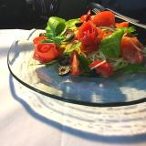 「トマトの薔薇スパゲッティー、冷たいの。」の画像(1枚目)