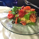 トマトの薔薇スパゲッティー、冷たいの。の画像(3枚目)