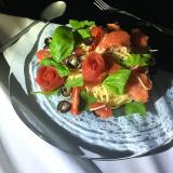 「トマトの薔薇スパゲッティー、冷たいの。」の画像(5枚目)