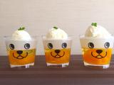 「夏休みのおやつに♪アニマル柄カップでキュート♡ 冷んやりゼリーONアイス」の画像(1枚目)