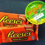 お父さんありがとう溶けてましたThanks dad melted tasty Reese's and HiramI lemon jello 😋#reeses #hiramilemon …のInstagram画像