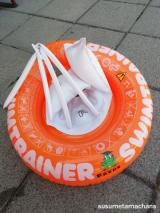 ドイツ発!泳ぎの基礎を身につけることができる浮き輪!!の画像(6枚目)