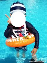 ドイツ発!泳ぎの基礎を身につけることができる浮き輪!!の画像(1枚目)
