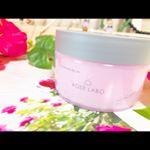 .🌹ナチュラルオフバームR 🌹W洗顔不要のクレンジングバーム💋夜の洗顔に使っとるんやけど、ROSEの香り好きやし最高❤️💛❤️💛.#ROSELABO #スキンケア #食べられる…のInstagram画像
