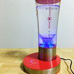 卓上型水素水生成器 ビサンテ H ウォーター ポット。○とてもシンプルでスタイリッシュな形をした水素水を作る機械です。○色は、レッドとホワイトがあります。私のところには、レッドが届きま…のInstagram画像
