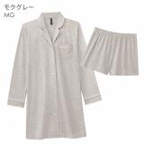 美シルエットなワンピースパジャマで質の良い睡眠を♡の画像(2枚目)