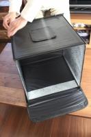★★★ フリマアプリのブツ撮りはこれで完璧!LEDライトつき&折りたたみ可能な「撮影ボックス」 ★★★の画像(4枚目)