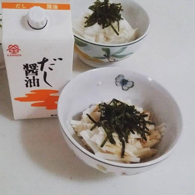口コミ投稿:暑い時はネバネバ素材がいいんだそうですよ。だから今日は長芋の刻んだものに鎌田の…