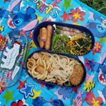 お弁当作ってピクニックしました♥デザインもかわいく大きさも女子にぴったりです❗食べたあとは小さくなります♥プチプラで気に入りました✨#プチプラ #雑貨 #プチプラ雑貨 #300均 #ア…のInstagram画像