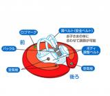 赤ちゃん用 浮き輪の画像(4枚目)
