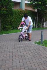 「D-Bikeで自転車デビュー‼︎」の画像(7枚目)
