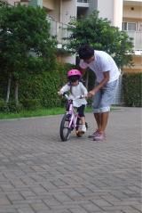 「D-Bikeで自転車デビュー‼︎」の画像(5枚目)