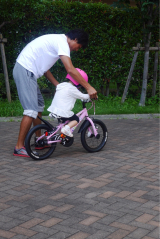 「D-Bikeで自転車デビュー‼︎」の画像(6枚目)
