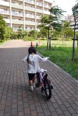 「D-Bikeで自転車デビュー‼︎」の画像(2枚目)