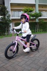 「D-Bikeで自転車デビュー‼︎」の画像(3枚目)