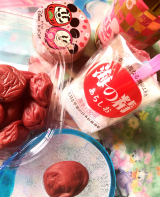 伊豆大島の美味しいお塩で作った梅干し♪で おにぎりー!!!の画像(4枚目)